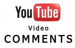 اضافة تعليقات على فيديوهات يوتيوب