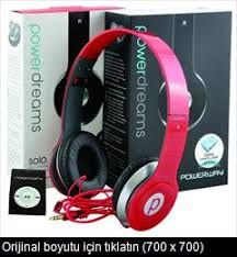 POWERWAY SOLO HEADPHONES MP3 GIFT white black red pempe ren